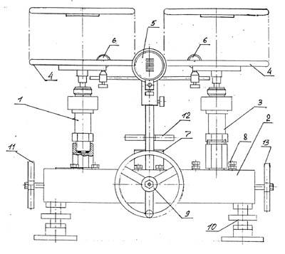 грузопоршневой манометр МП-60