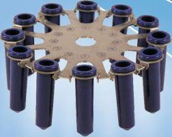 Универсальный ротор на 12 адаптеров.  Роторы, применяемые в центрифуге СМ-6М: ротор 6M.